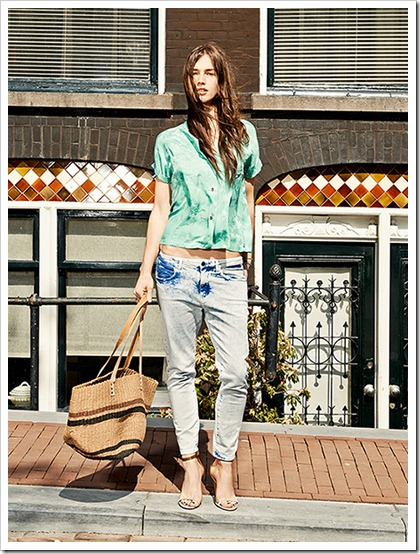Scotch & Soda Spring Summer 2014 Women's Lookbook