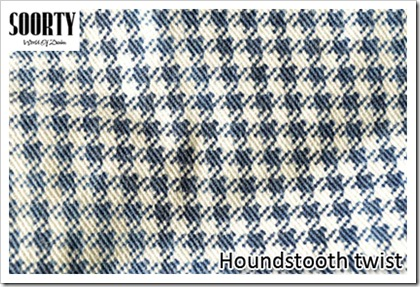 Visual Treats from Soorty - Houndstooth twist