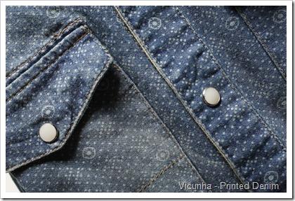 Vicunha - Printed Denim