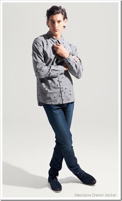 Wrangler Fall Winter 2014 Lookbook - Massacre Denim Jacket