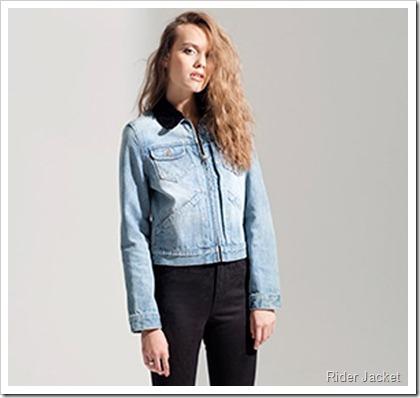 Wrangler Fall Winter 2014 Lookbook - Rider Jacket