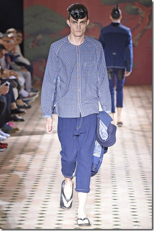 Junya Watanbe SS15 Denim Collection