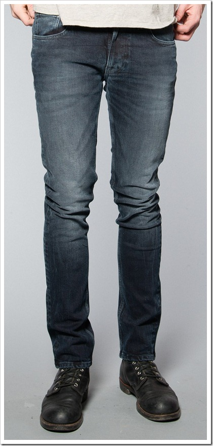 Nudie Jeans Fall Winter 2014 - TAPE TED BLUE BLACK