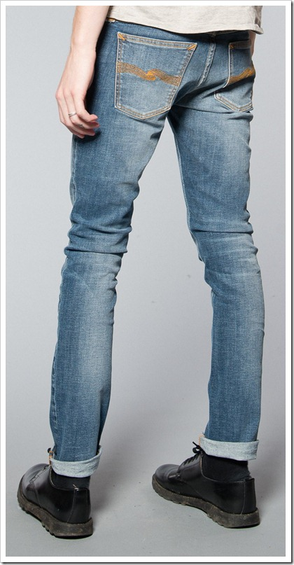 Nudie Jeans Fall Winter 2014 - TIGHT LONG JOHN PURE BLUE
