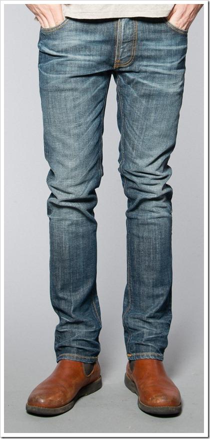 Nudie Jeans Fall Winter 2014 - THIN FINN DUSK INDIGO