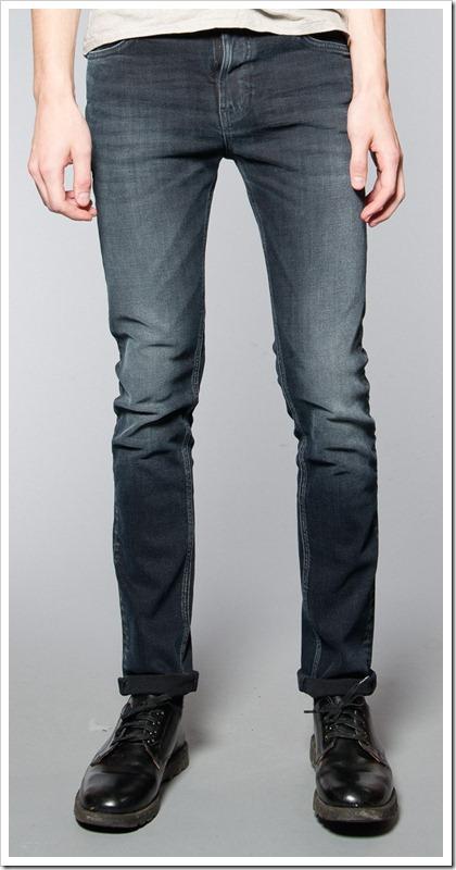 Nudie Jeans Fall Winter 2014 - HIGH KAI BLACK USED