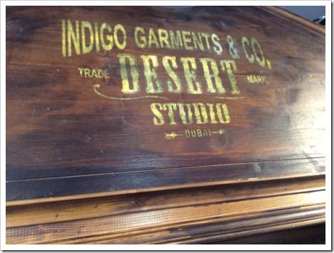 Indigo Garments - Desert Studio