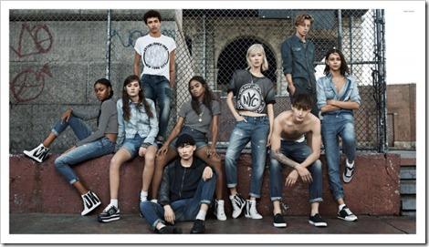 DKNY 2015 Campaign