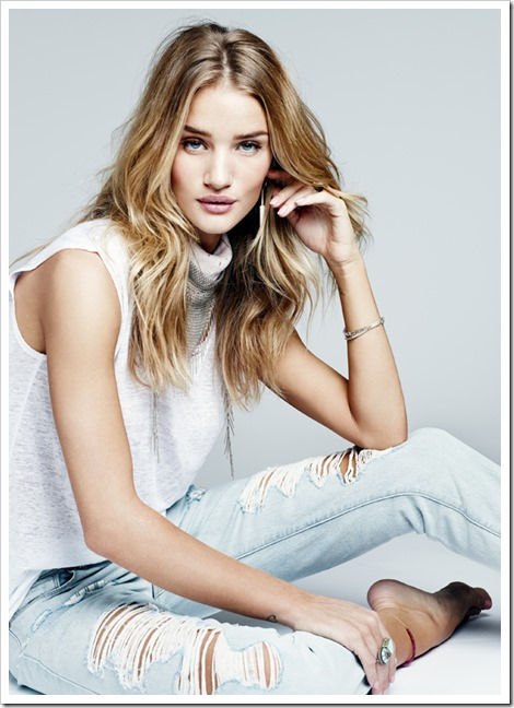 Paige's Campaign Starring Rosie Huntington-Whiteley 1