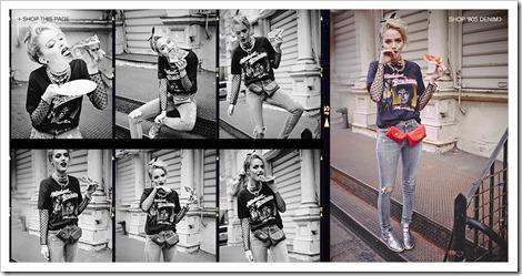 Shopbop 80′s Denim Campaign 1
