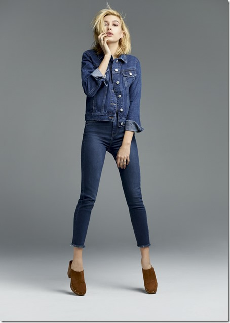 Hailey Baldwin is the new face of Topshop denim for SS15