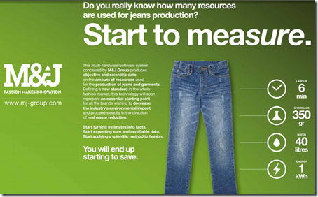 Green Initiatives From M & J Group : Denimsandjeans.com