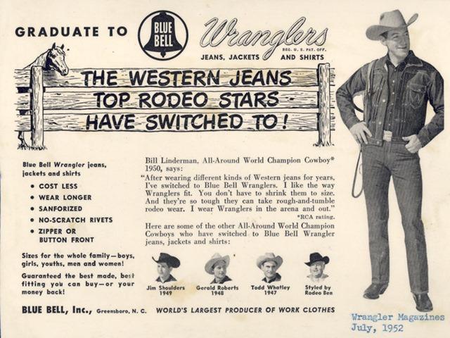 A Visual History Of Wrangler - Denim Jeans | Trends, News ... - photo#36