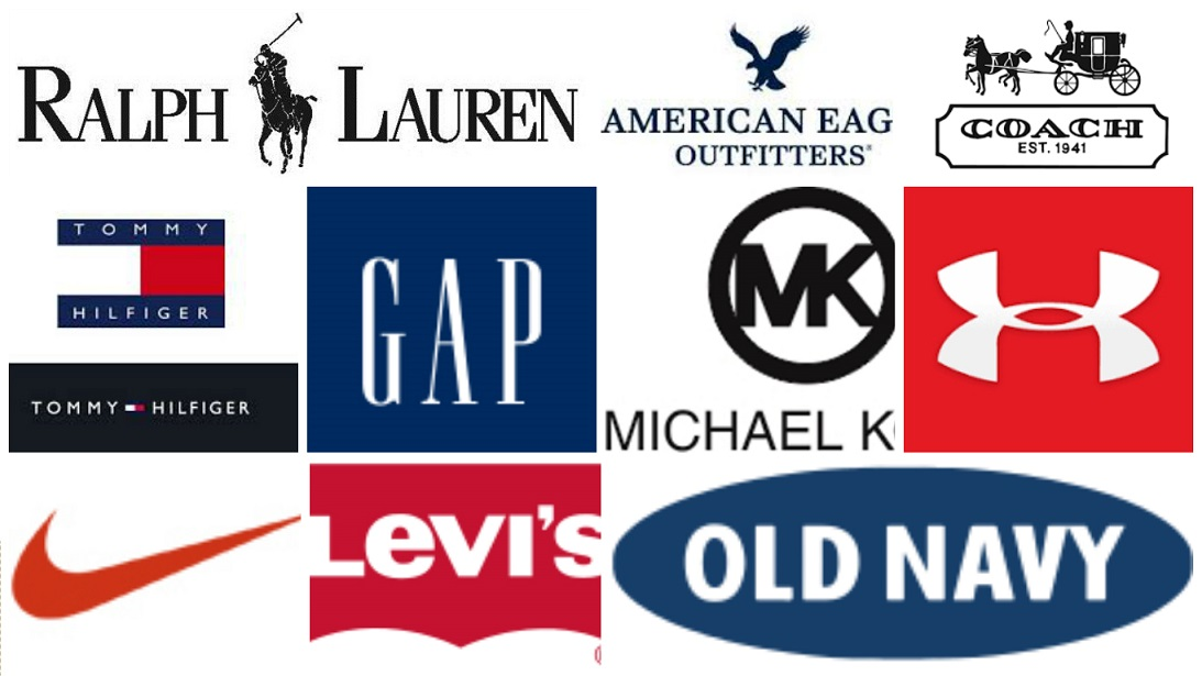 top clothing companies famous clothing companies