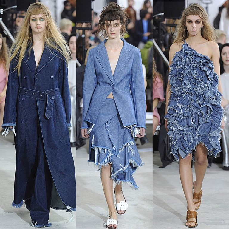 London Fashion Week Ss 16 I Denim Jeans Trends News And Reports Worldwide