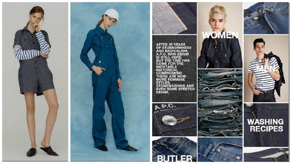 3f540971501 A.P.C. Spring 2016 Ready To Wear Collection – Denim Jeans