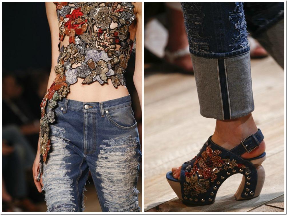 Alexander McQueen Womenswear Spring Summer'16 Runway Looks  denimsandjeans.com