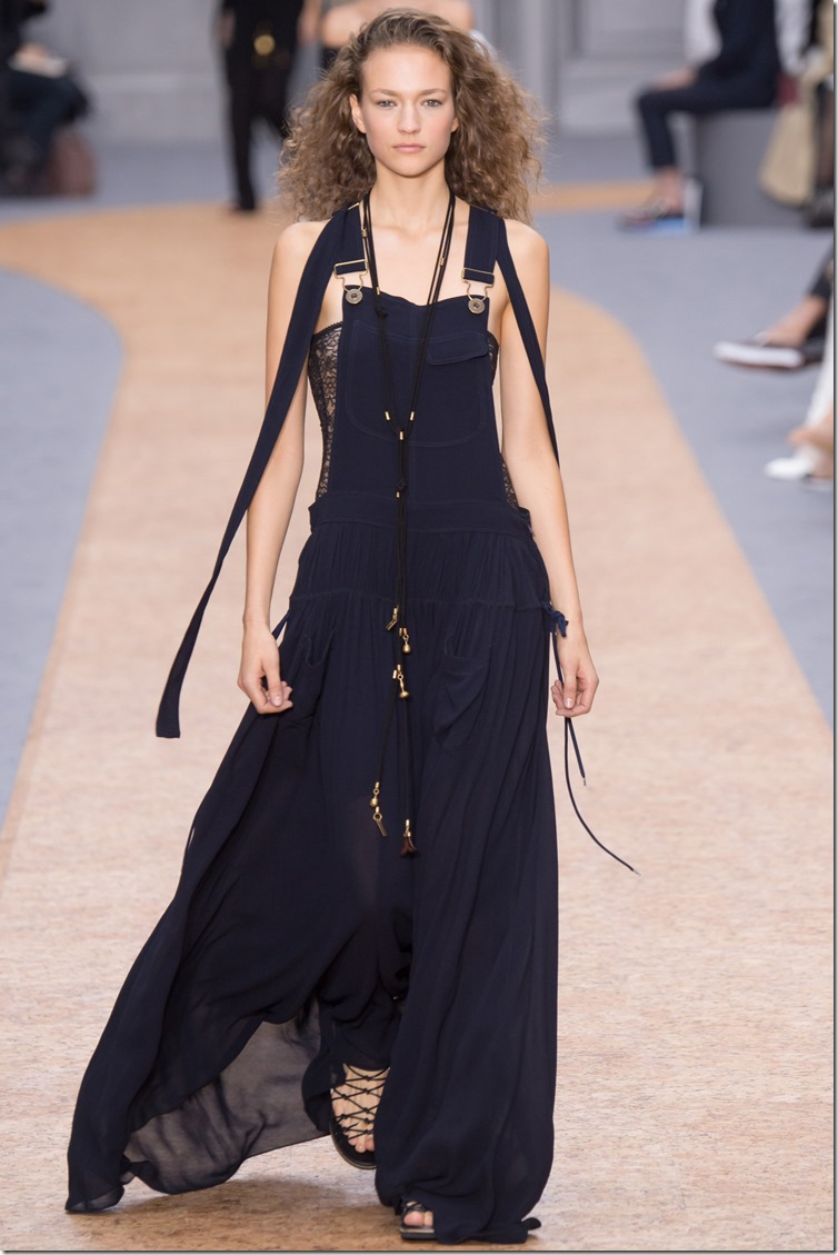 Chloé Spring/Summer 2016 Paris Fashion Week denimsandjeans.com