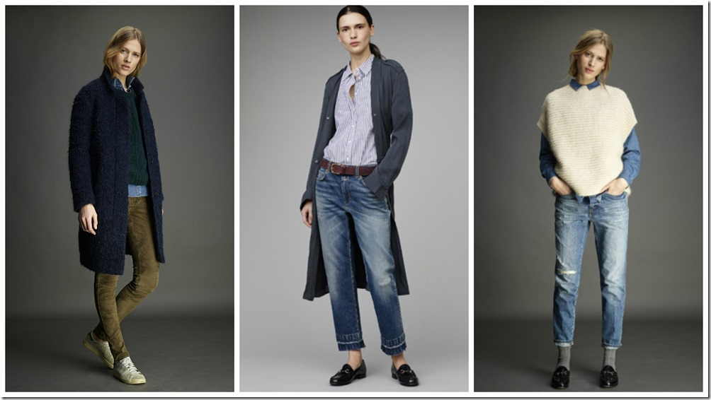 Closed Denim Fall Winter 2015 Women's Lookbook  denimsandjeans.com