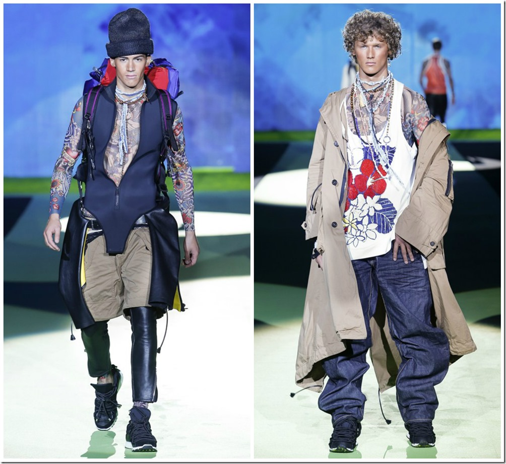 Dsquared2 Menswear Spring Summer 2016