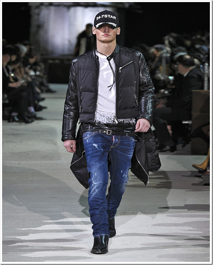 DSQUARED2 - Menswear Collection Autumn/Winter 2015/16 : Denimsandjeans.com