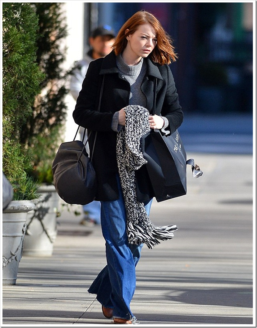 Emma Stone In Full-On Flares
