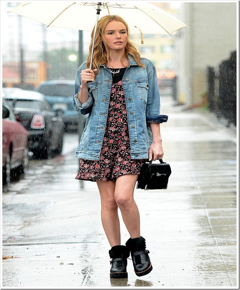 Kate Bosworth In Denim jacket