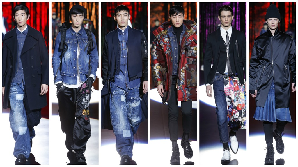 Dsquared2 Fall 2016 Menswear Denim Trends – Denim Jeans  9035b520cff4