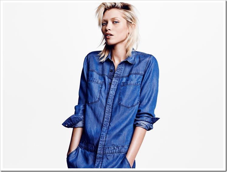 Conscious Blue (rather Green ) Denim From H&M : Denimsandjeans.com