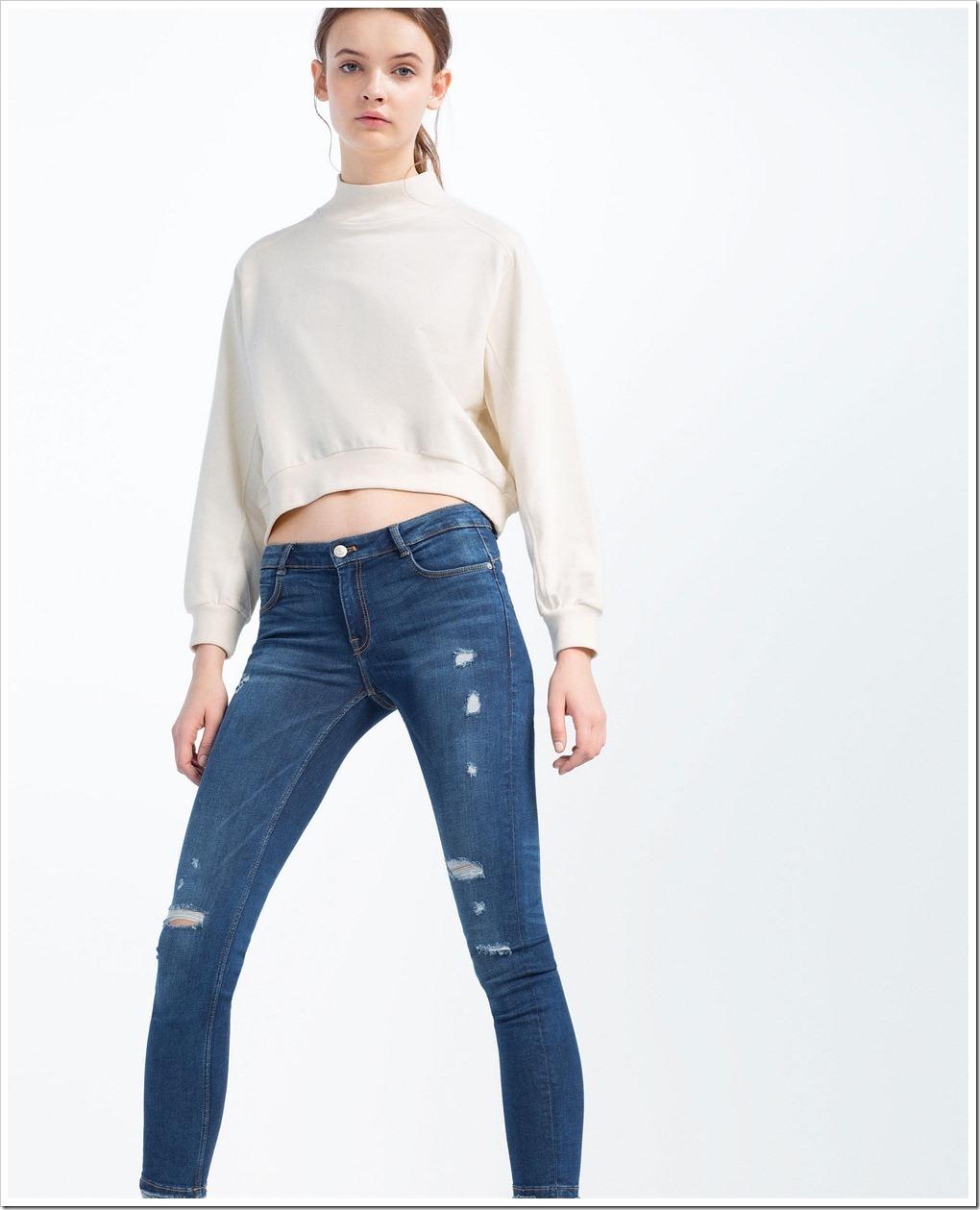 ZARA jeans for women : Denimsandjeans.com