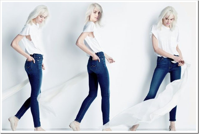 7 For All Mankind Launch b(air) Denim Jeans