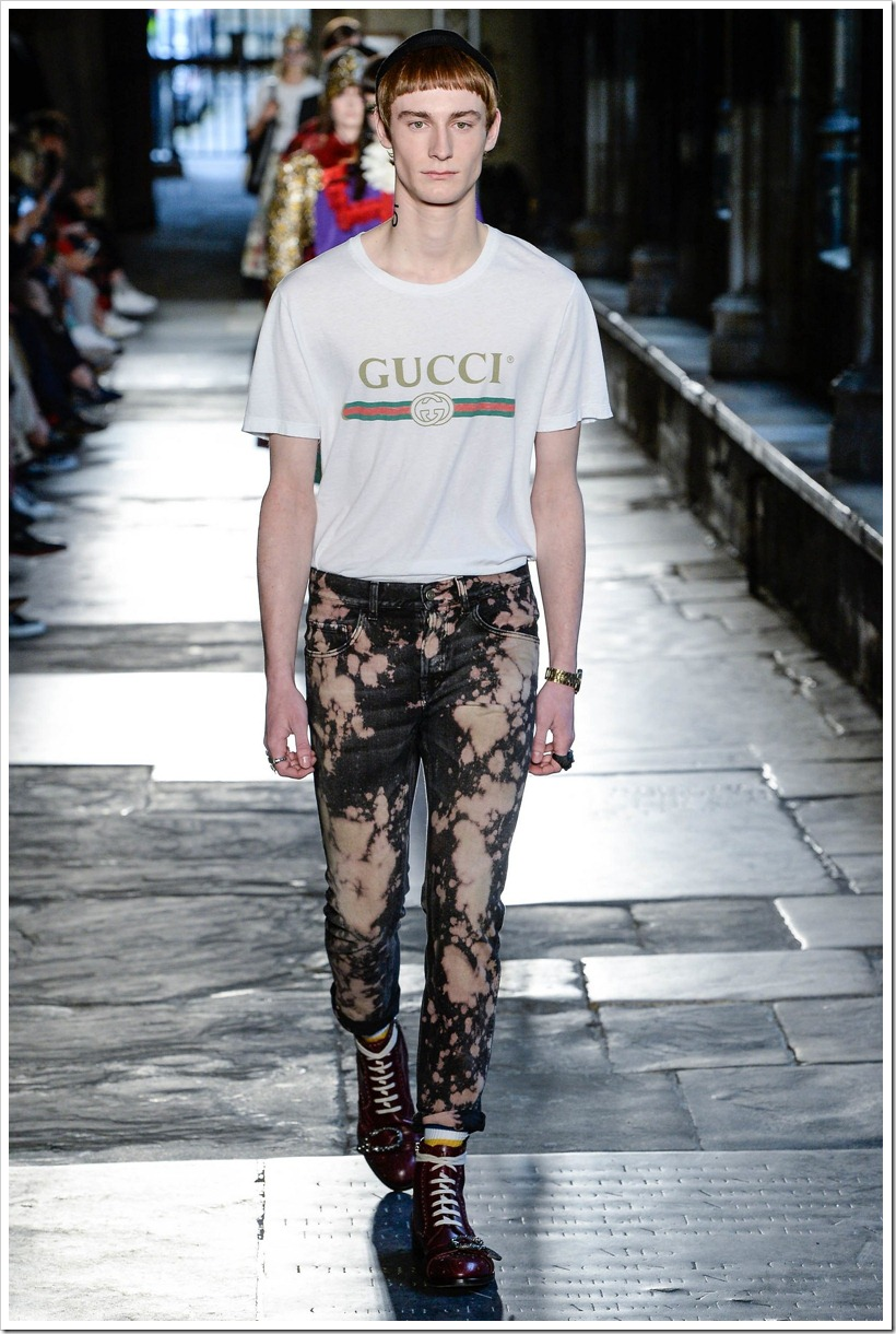 Gucci Brings Out Some Cool Acid Wash Denims Denim