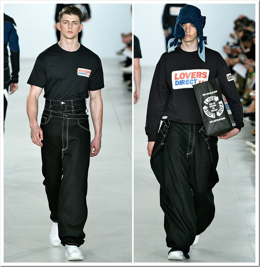 Christopher Shannon Men's Wear SS17 Collection