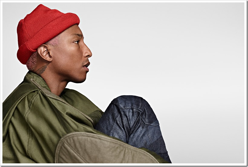 Pharrell Williams | G-Star Raw | Denimsandjeans