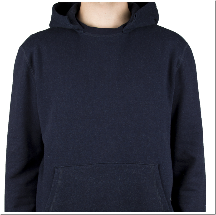 Real Indigo French Terry – Hoodie