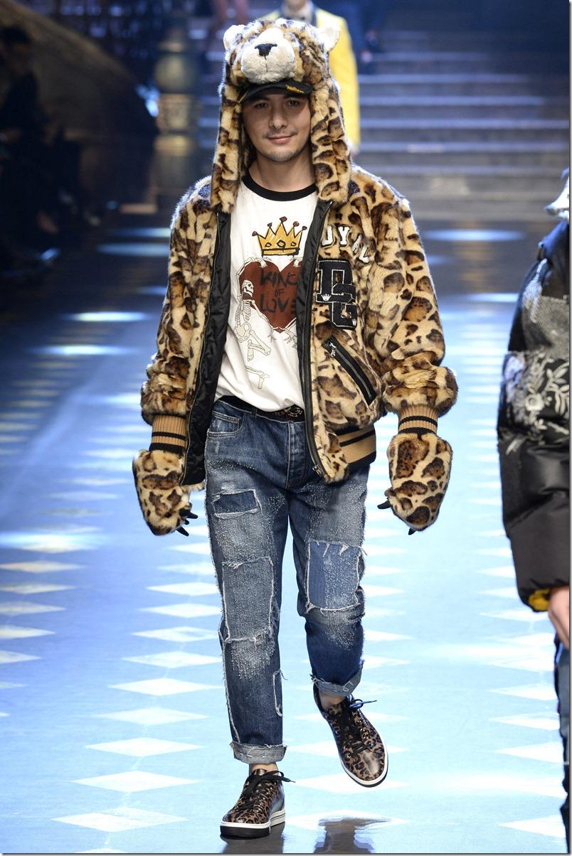 Dolce & Gabbana FALL 2017 MENSWEAR