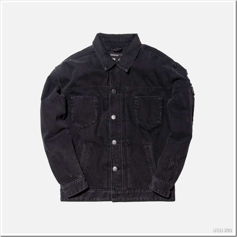 Hawkins Destroyed Denim Jacket | Denimsandjeans.com