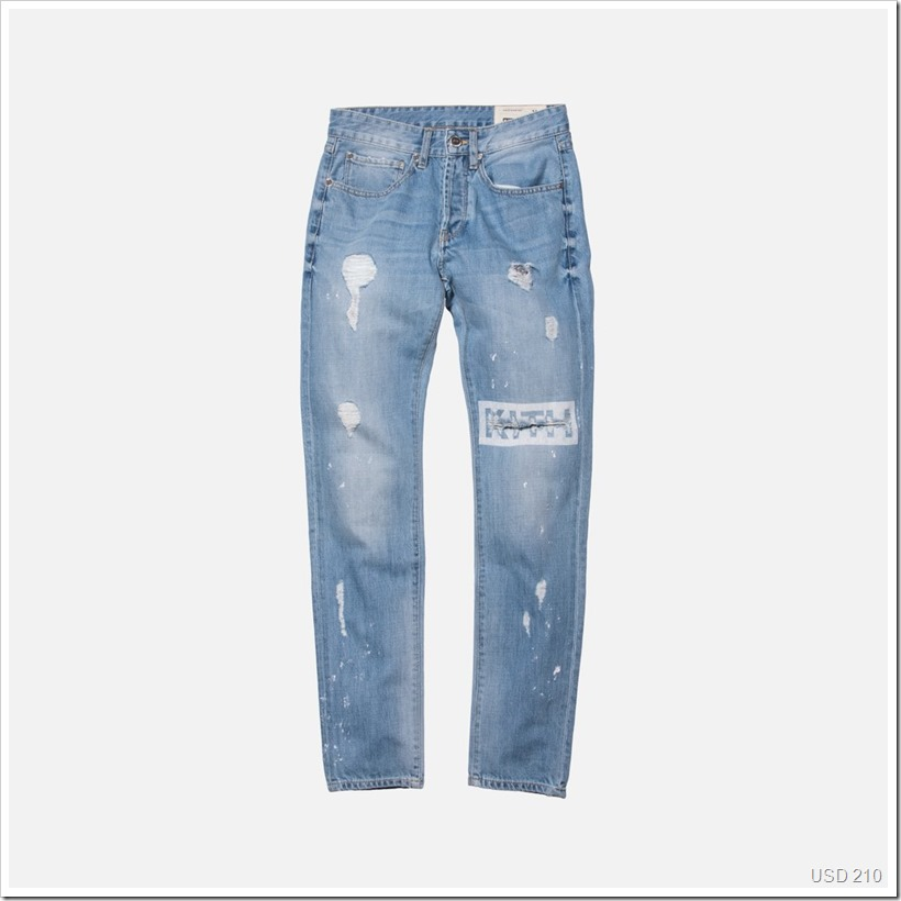 Varick Destroyed Denim | Denimsandjeans.com