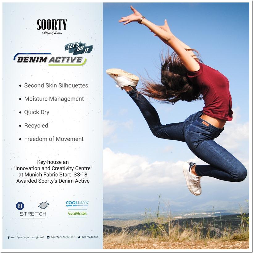 Denim Active by Soorty | Denimsandjeans.com