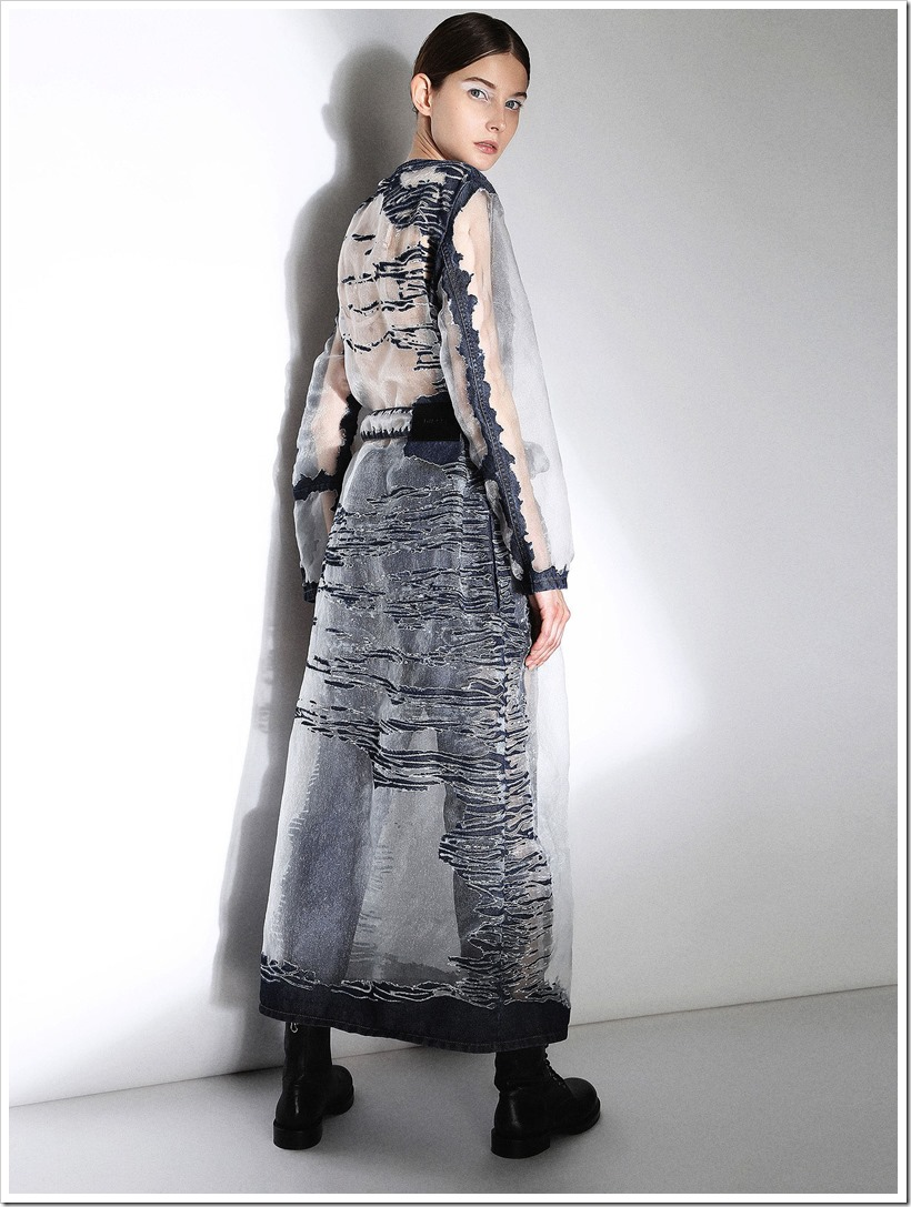 Faustine Steinmetz Collaborated With Diesel | Denimsandjeans.com