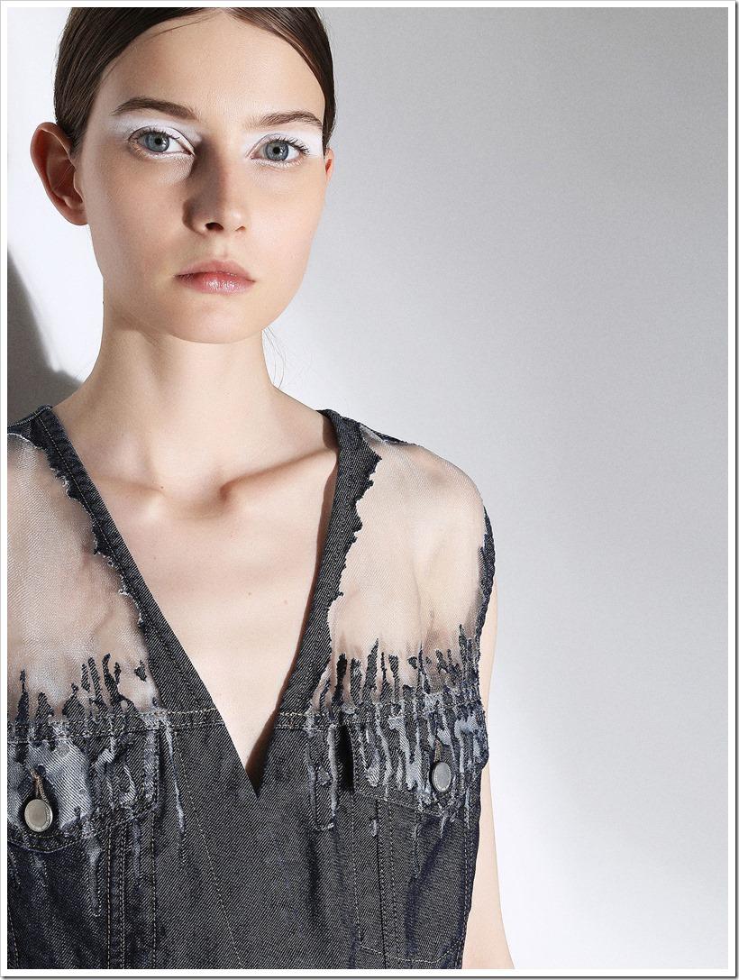 Faustine Steinmetz Collaborated With Diesel   Denimsandjeans.com
