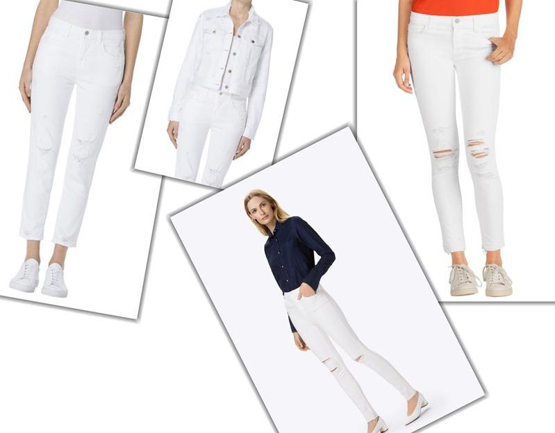 White Denim J Brand| Denimsandjeans
