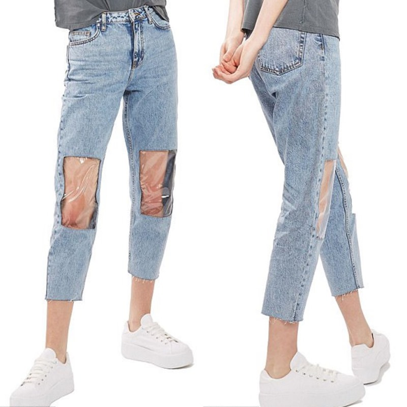 knee paneled jeans