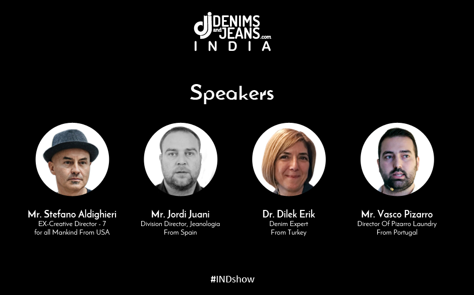 Speakers At Denimsandjeans India Show