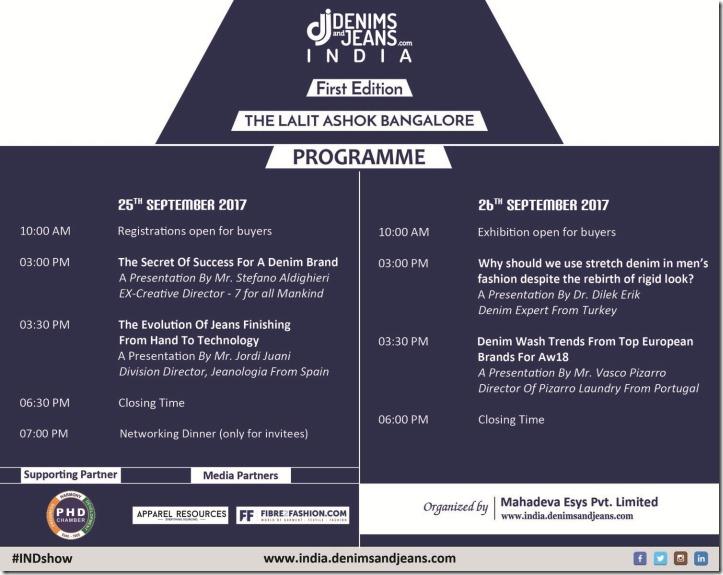 Schedule Denimsandjeans India