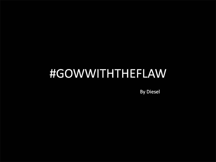 #GOWITHTHEFLAW Collection By Diesel