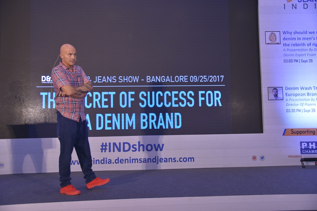 the secret of success for a denim brand a presentation by stefano