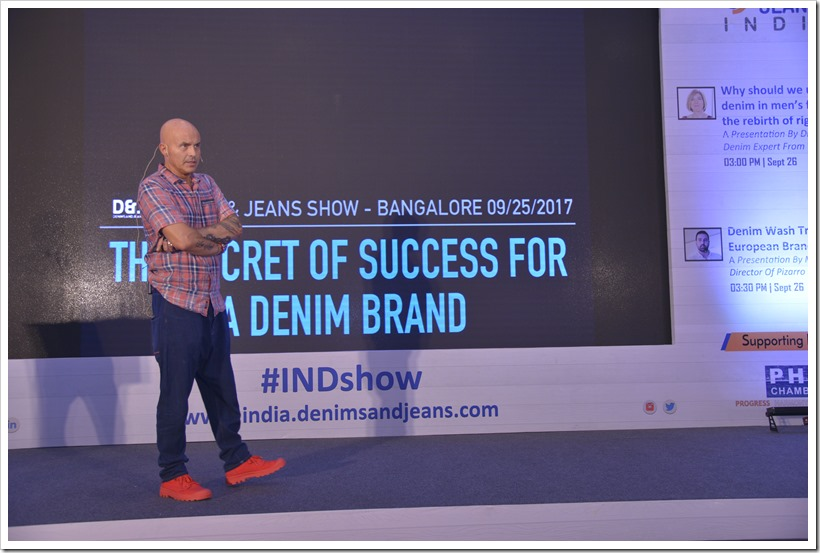 The Secret Of Success For A Denim Brand–A Presentation By Mr Stefano Aldighieri