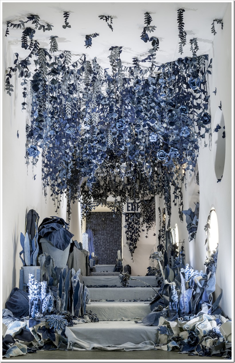 The Secret Garden Installation at the Children's Museum of the Arts By Ian Berry In New York | Denimsandjeans.com