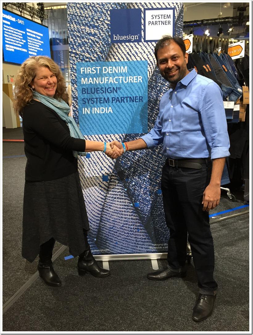 Anubha Announces Partnership With Bluesign® | Denimsandjeans.com
